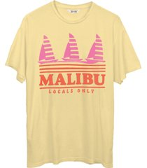 junk food cotton malibu locals only graphic t-shirt