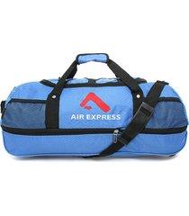 maletín azul-negro air express