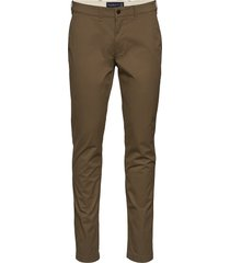 pants chinos byxor brun abercrombie & fitch
