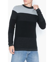 premium by jack & jones jprfreeze knit crew neck tröjor mörk grön