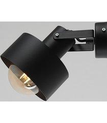 lampa ścienna fay wall czarna