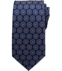 men's cufflinks, inc. captain america shield silk tie