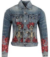 grateful dead trucker jacket