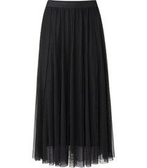 rok met elastische band van margittes zwart