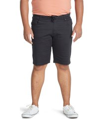 johnny bigg cameron knit shorts, size 44 x r in black at nordstrom