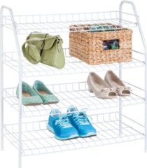 honey can do 4-tier wire storage rack