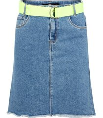 denim rok high waist