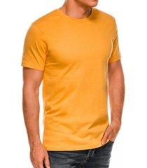 ombre heren t-shirt basic yellow