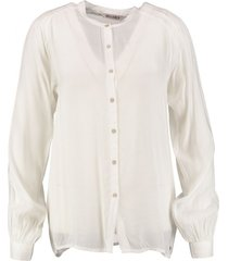 garcia soepele viscose blouse winter white