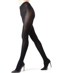 sweater flat knit women's tights