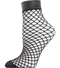 all net glitter women's fishnet anklet socks