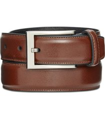 alfani men's big & tall feather-edge dress belt, created for macy's