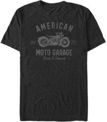 fifth sun men's generic additude american moto garage short sleeve t-shirt