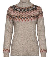 pullover-knit light gebreide trui grijs brandtex
