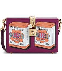 belleza acrylic box crossbody bag