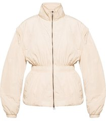jacket with detachable sleeves