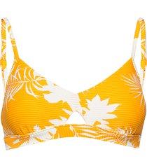hybrid bralette bikinitop geel seafolly