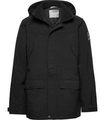 luosto men's warm parka jacket parka jas zwart halti