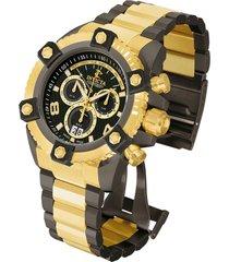 reloj invicta modelo 13044_out oro, gunmetal hombre
