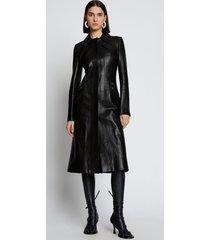 proenza schouler zip leather coat black 12