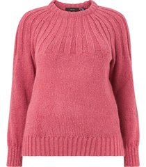 tröja vmlika ls knit pullover s curve