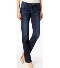 kut from the kloth stevie straight-leg jeans