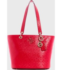 cartera  chic shine  rojo guess