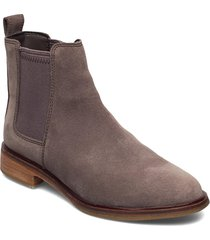 clarkdale arlo shoes boots ankle boots ankle boot - flat beige clarks