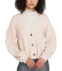 sanctuary the fuzzy ribbed cardigan sweater