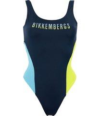 bikkembergs one-piece swimsuits