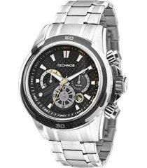 relógio technos performance sports carbon js26ac/1p 47mm