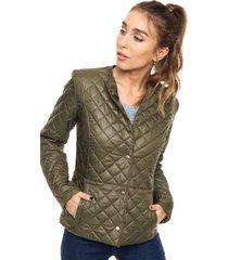 chaqueta verde kaba line tenerife
