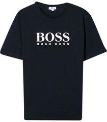 hugo boss navy blue t-shirt