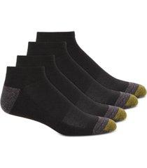 gold toe men's 4-pk. circuit no-show athletic socks