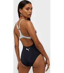 puma racerback swimsuit sportbadkläder