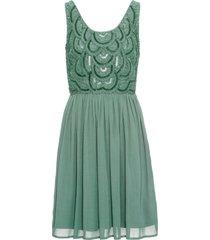 abito con perle (verde) - bodyflirt
