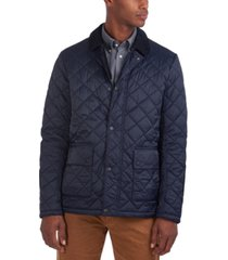 barbour men's diggle quilted coat