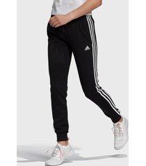 pantalón  adidas performance w 3s ft c pt negro - calce regular