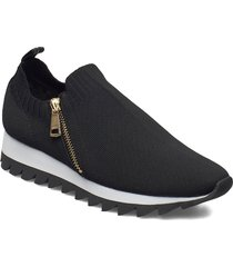 azza - slip on runne shoes sport shoes running shoes svart dkny