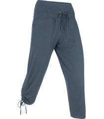 pantaloni capri per wellness (blu) - bpc bonprix collection