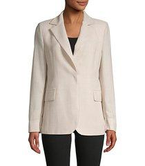 textured wool jacket