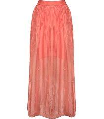 tiffany 16220 long skirt, coral