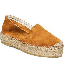 ida sandaletter expadrilles låga brun pavement