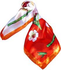 pañuelo bandana bambú naranjo viva felicia