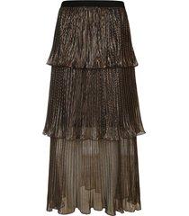 self-portrait pleated long skirt