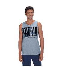 camiseta regata fatal estampada 25178 - masculina
