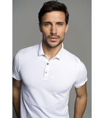koszulka polo milo biały
