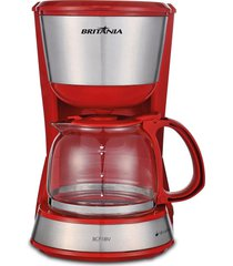 cafeteira britânia inox plus, 18 cafés - bcf18iv - 110 volts