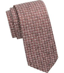 collection inverse triangle print tie