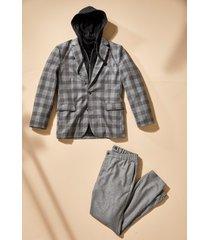 pantaloni regular fit con cinta comoda (grigio) - bpc selection
